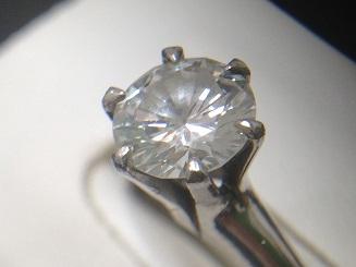 ダイヤモンドリング買取 1.24ct I/Si1/VG 大粒ダイヤ買取ならお任せください MARUKA大阪心斎橋店
