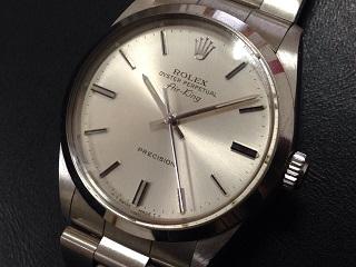 ロレックス買取 エアキング 5500 ヴィンテージ 状態が悪くても大丈夫 時計買取MARUKA心斎橋店