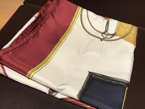 エルメス スカーフ カレ90 ブランド 買取 京都 四条 烏丸