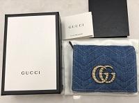 グッチ買取 二つ折り財布 GGマーモント 466492 グッチ買取もMARUKA七条店へ