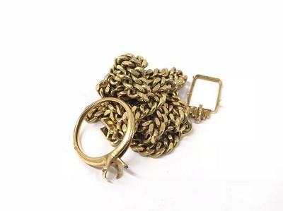 金 買取 渋谷 マルカ 壊れた ネックレスや石の取れたリング 買取可能 K18 高価買取 宮益坂