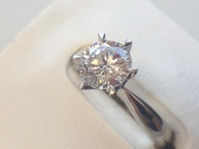 ダイヤモンドリング買取 0.871ct この大きさなら3万円から50万円ぐらいまで 宝石買取MARUKA心斎橋店
