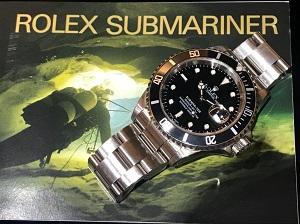ロレックス買取 サブマリーナーデイトRef.16610 P番(2000年製)