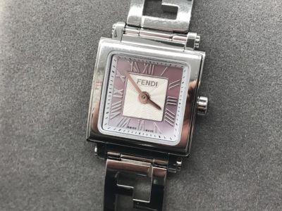 フェンディ時計買取 レディースウォッチ クアドロミニ ファッションブランド時計買取もMARUKA心斎橋店
