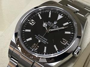 ロレックス エクスプローラー 214270 買取 横浜 時計買取 新山下