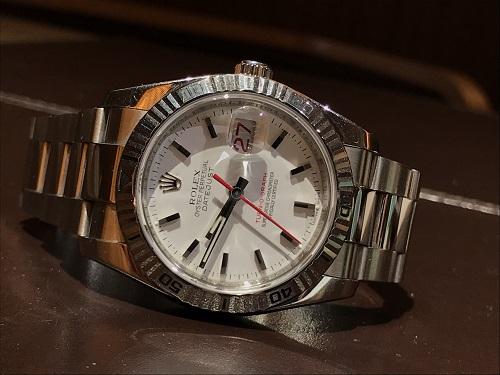 ロレックス ターノグラフ 時計 ブランド 買取 116264 京都 四条 烏丸