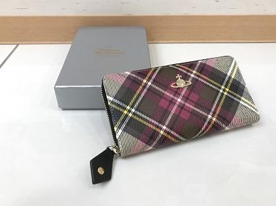 ヴィヴィアン 財布 ダービー柄 買取 MARUKA神戸マルイ店 三宮 神戸 須磨区 垂水区 西区
