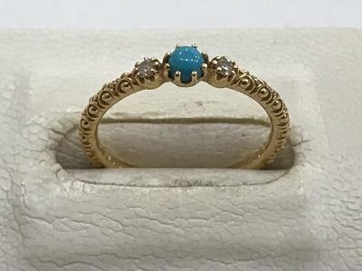 スタージュエリー K18 指輪買取 ターコイズ ジュエリー買取 西宮市 芦屋市 尼崎市 MARUKA