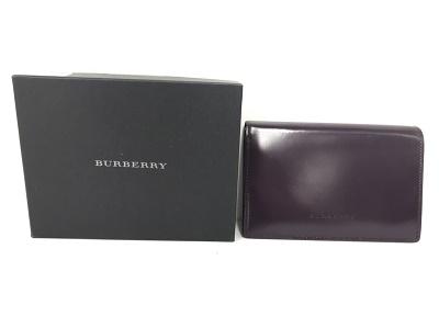 バーバリー買取 二つ折り財布 レザー ブランド品買取 神戸 元町 三宮 MAURKA