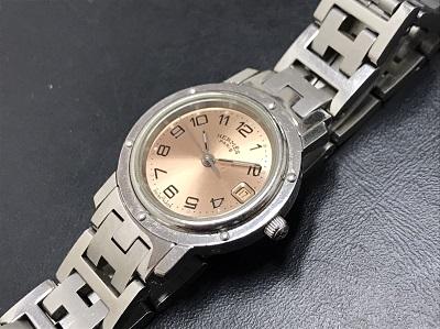 時計買取 エルメス買取 クリッパー ステンレス 高価買取ならマルカ 京都 七条 西大路