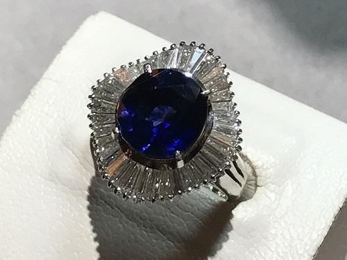 サファイア リング 指輪 買取  宝石 ジュエリー 四条 烏丸 御池 寺町