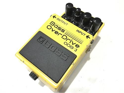 BOSS ODB-3 Bass OverDrive エフェクター買取 楽器買取 京都 四条烏丸 河原町