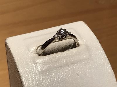 宝石買取 Pt900 0.20ct 0.03ct 3.5g ダイヤモンド 宅配買取