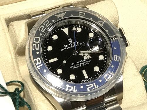 ロレックス GMTマスターⅡ 116710BLNR 時計 ブランド 買取 京都 四条 烏丸
