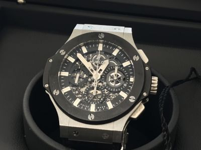 ウブロ買取 人気時計を高く売るならMARUKA アエロバン 311.SM.1170.GR 時計買取MARUKA大阪心斎橋店