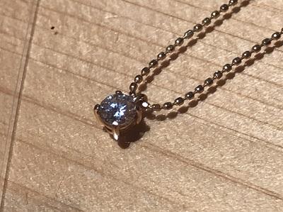 宝石買取 K18 0.20ct 2.0g ダイヤモンド 四条 買取