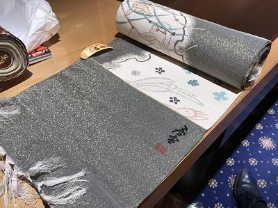 山科春宣 帯 反物 京友禅 買取 出張査定 MARUKA神戸マルイ店 西宮市 芦屋市 尼崎市