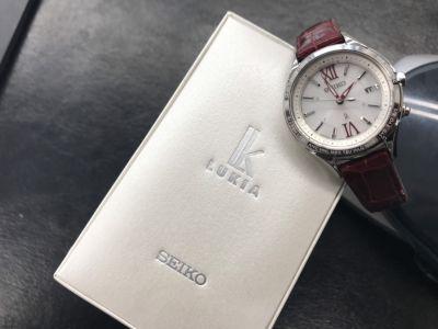 SEIKO買取 レディースウォッチ ルキア SSVV013 国産時計買取もMARUKAにお任せください
