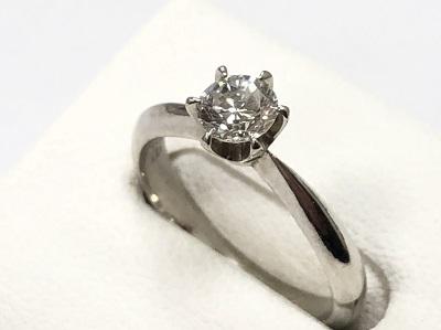 ダイヤモンドリング 0.35カラット プラチナPt900  ダイヤモンド買取 貴金属買取 宝石買取 京都 四条 河原町 マルイ店