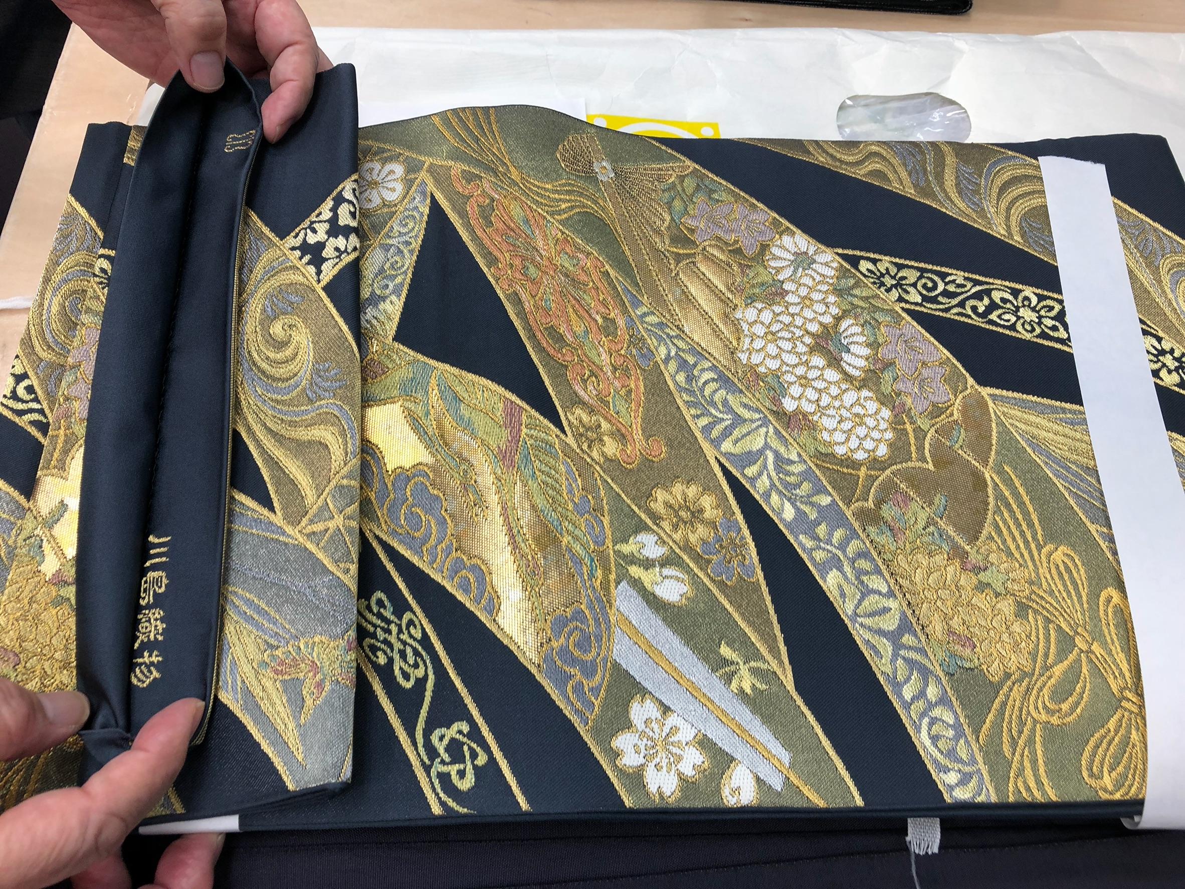 川島織物 西陣織 帯