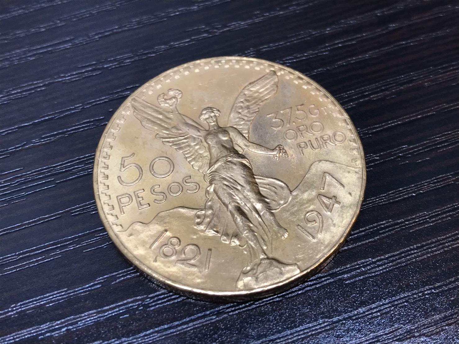 50ペソ金貨 K21.6