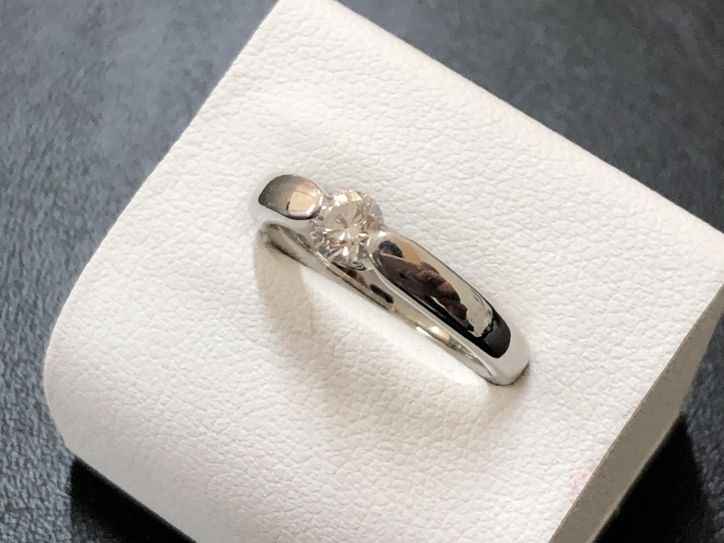 リング ダイヤモンド プラチナ