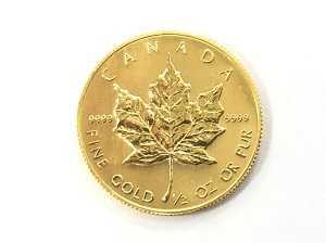 K24 メイプルリーフコイン