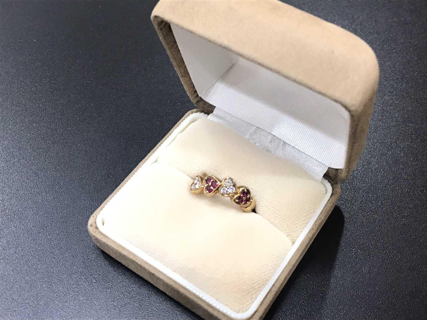 ダイヤモンド買取 ルビー リング