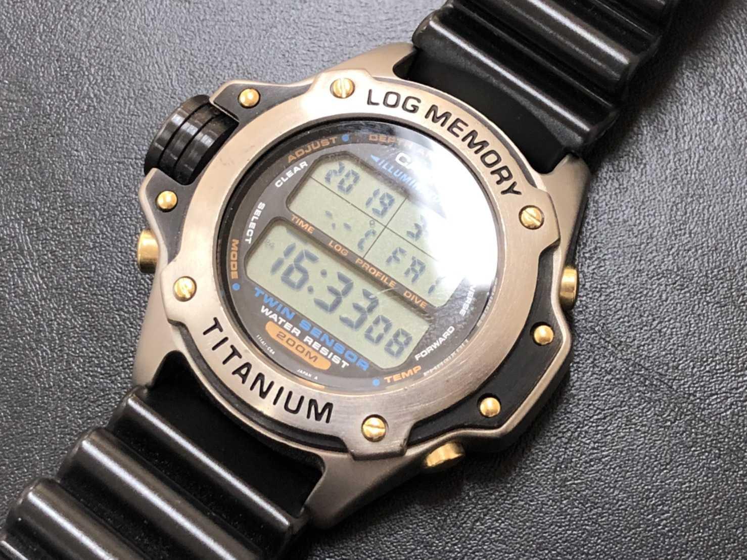 カシオ時計買取 ログメモリー
