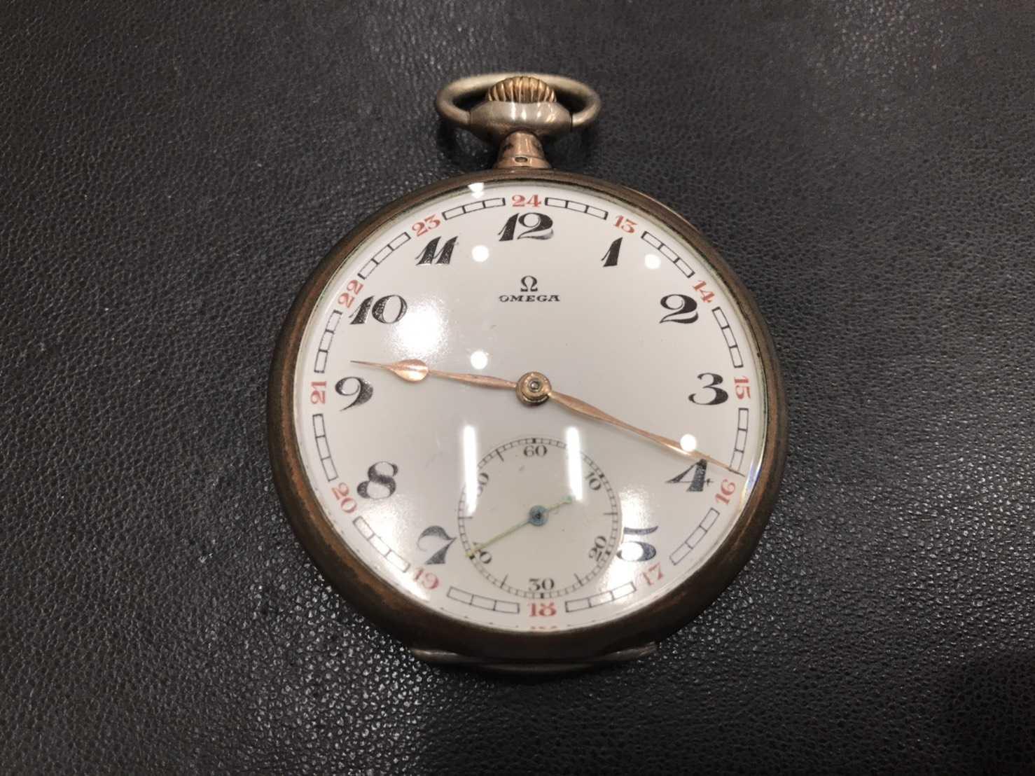 オメガ買取 懐中時計