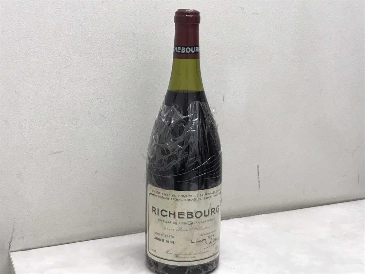 ワイン買取 DRCリシュブール 1988 1500ml