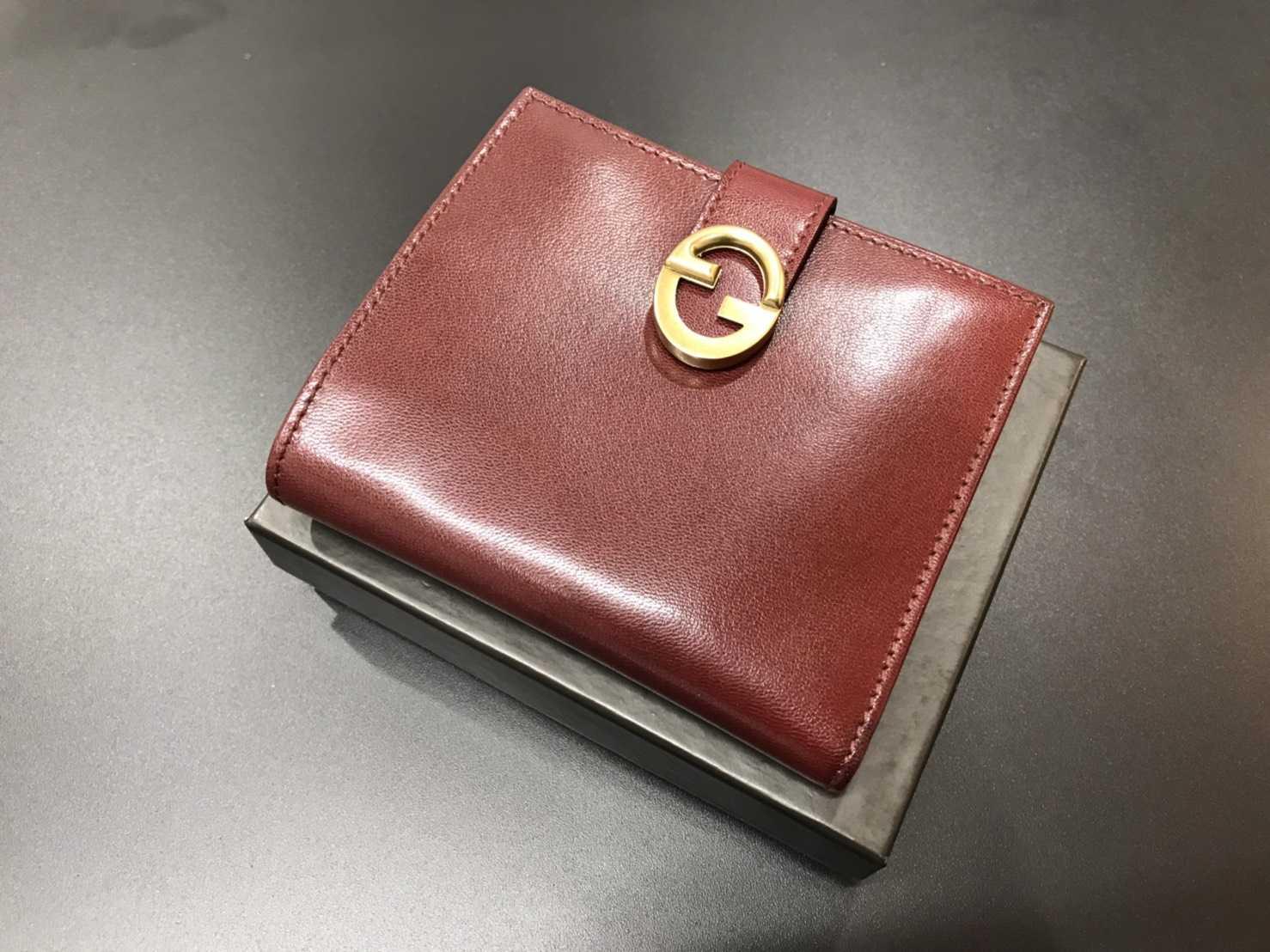 グッチ買取 三つ折り財布
