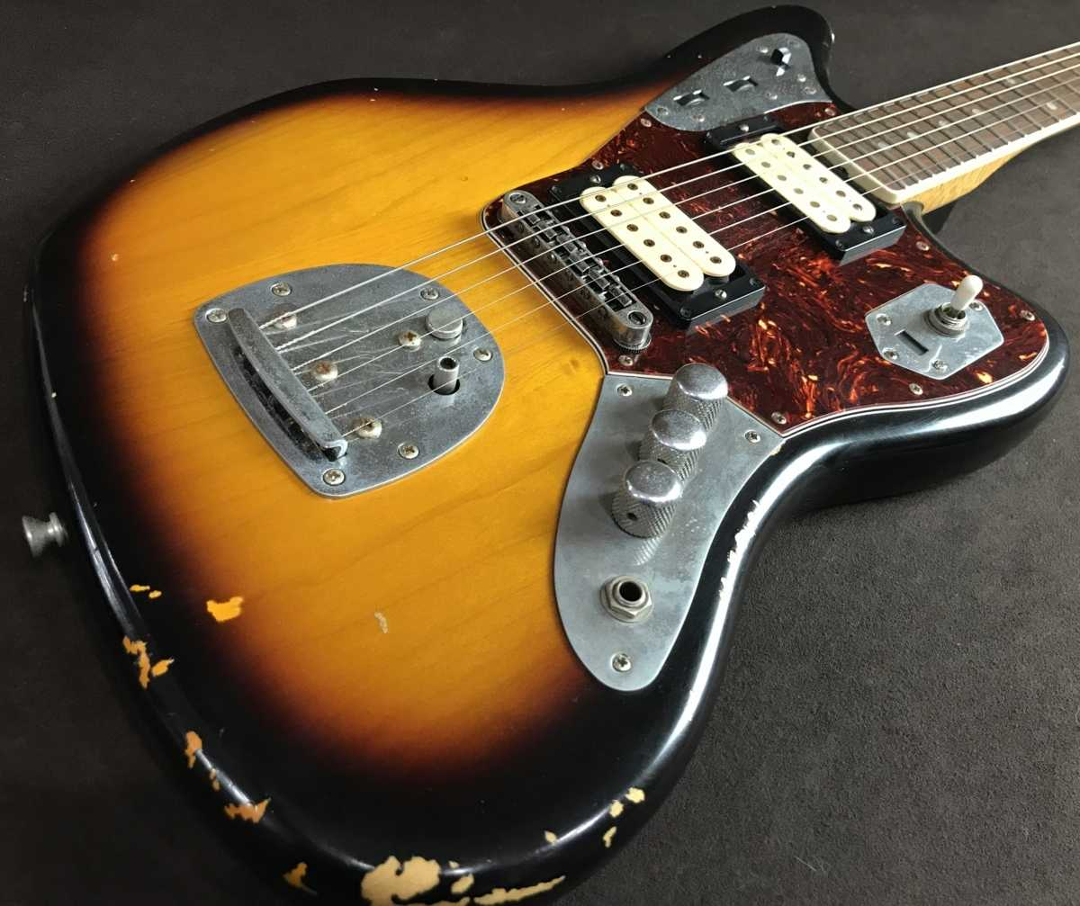 Fender Mexico買取 Road Worn Kurt Cobain Jaguar Relic