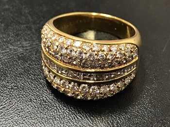 ブシュロン買取 ダイヤモンドリング
