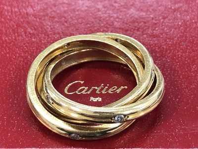 カルティエ買取 ダイヤリング