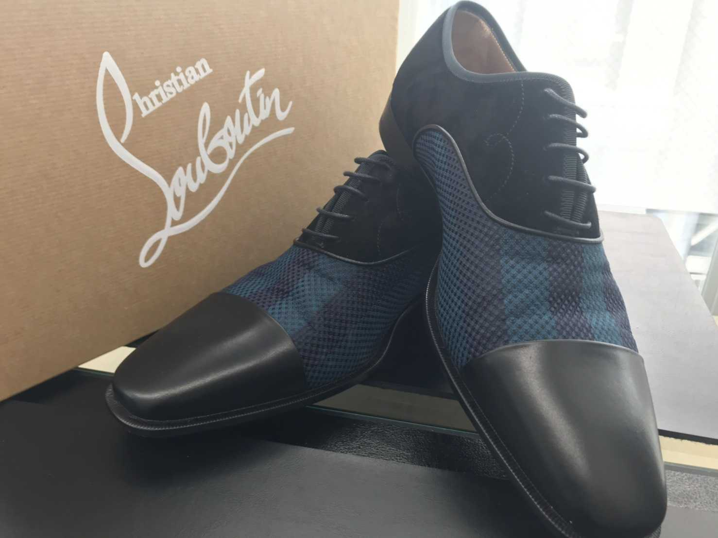 クリスチャンルブタン買取 紳士靴