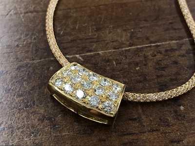 宝石買取 ダイヤモンドペンダント