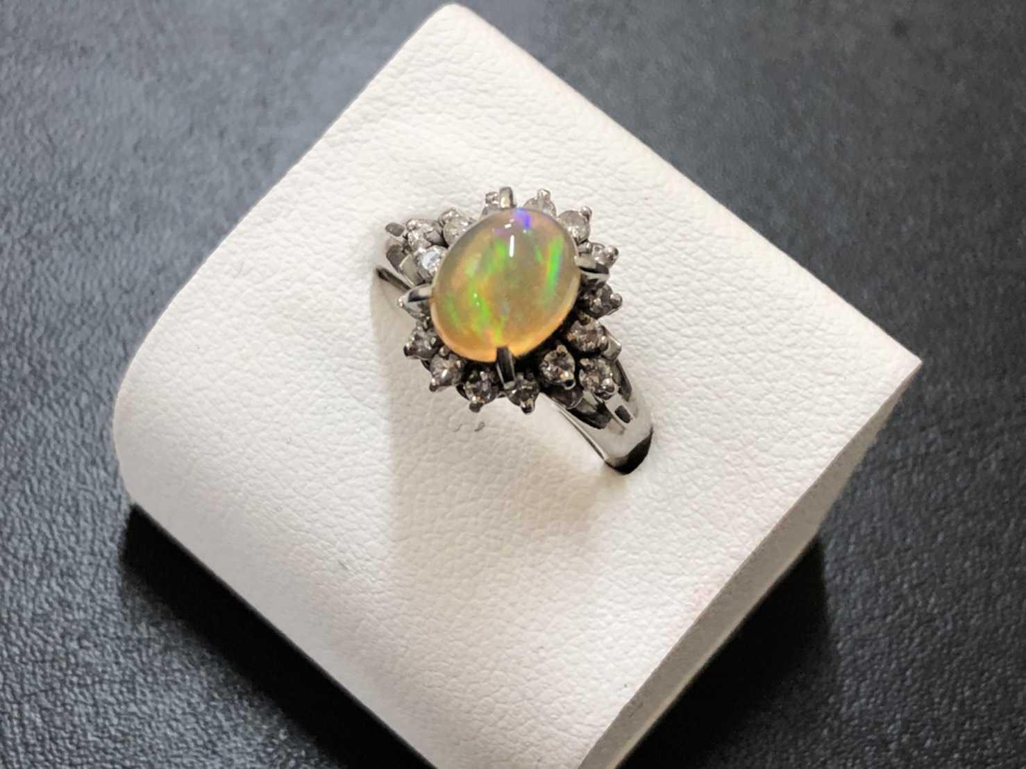 オパール買取 指輪