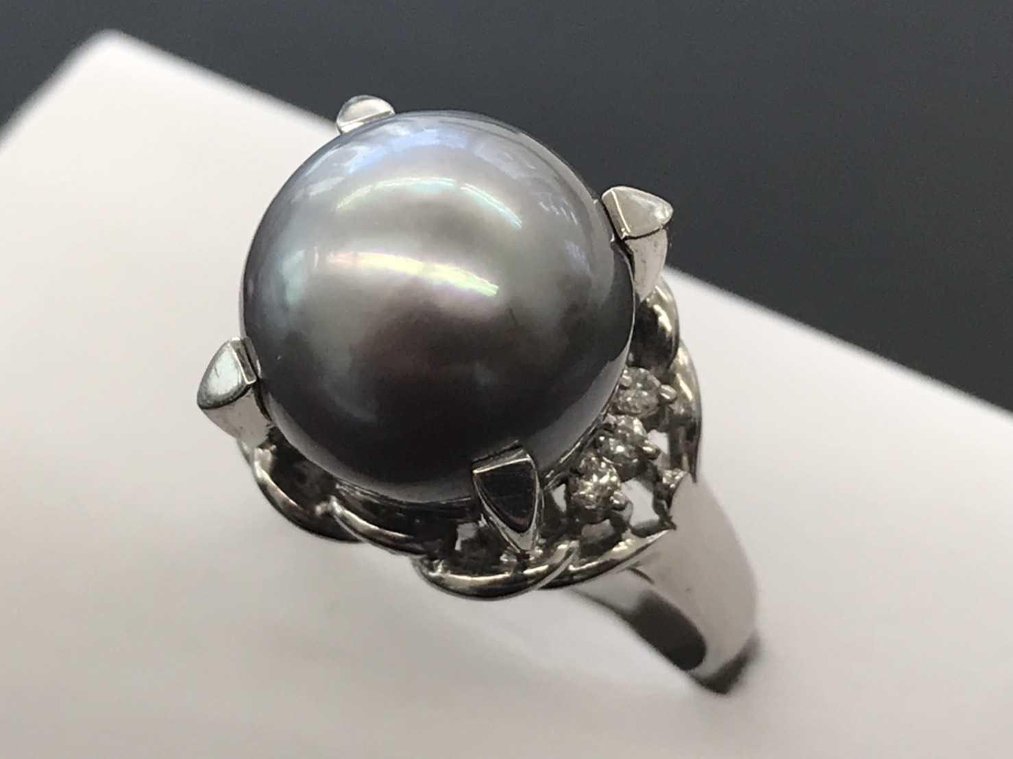 宝石買取 南洋パール指輪