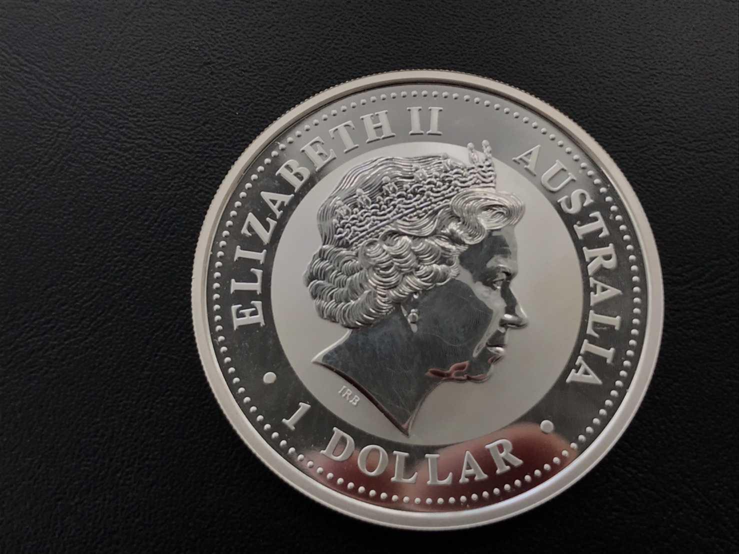 銀買取 エリザベス2世1oz銀貨