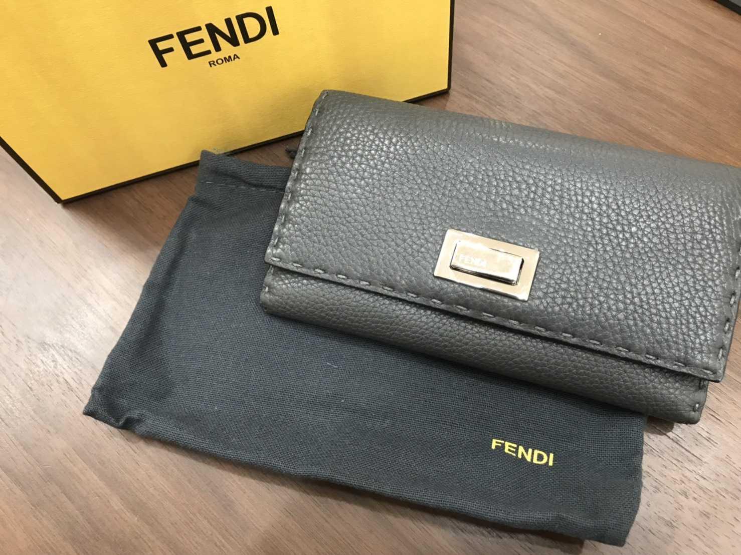 フェンディ買取 長財布