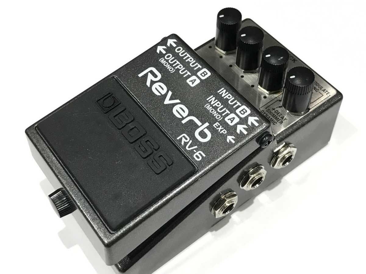 BOSS RV-6 Reverb 買取
