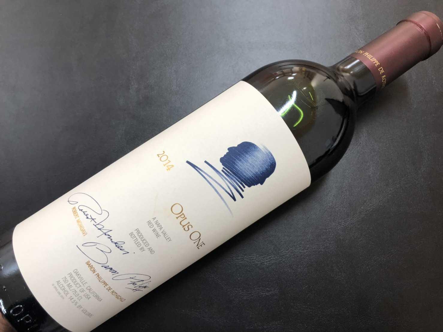 ワイン買取 オーパスワン2014