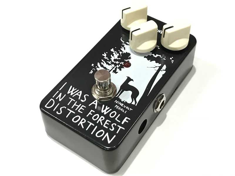NINEVOLT PEDALS買取 I WAS A WOLF IN THE FOREST DISTORTION