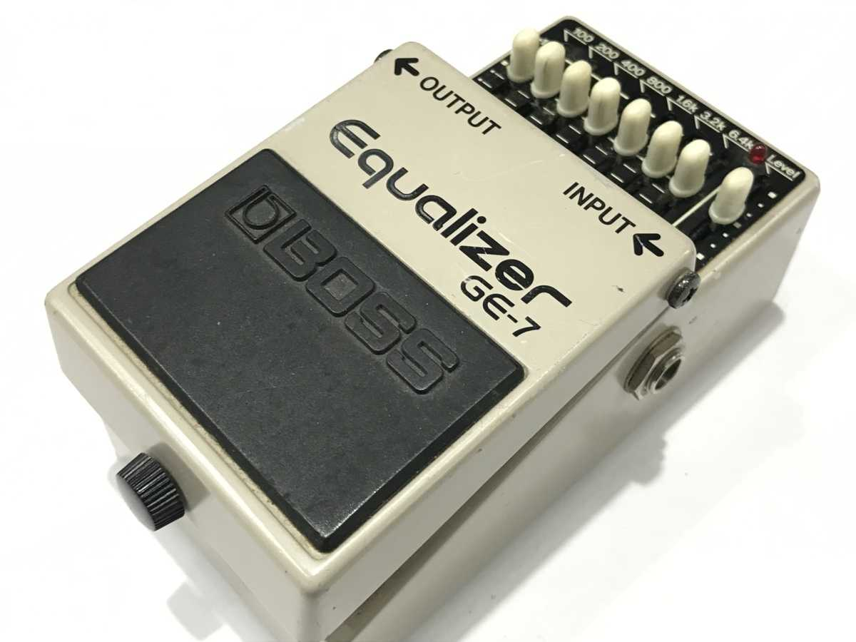 BOSS GE-7 Equalizer 日本製 買取