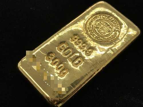 純金インゴット買取 徳力300gバー