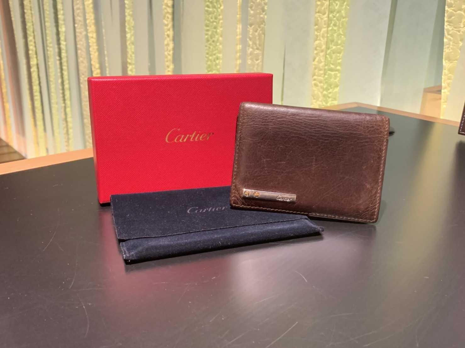 カルティエ買取 カードケース