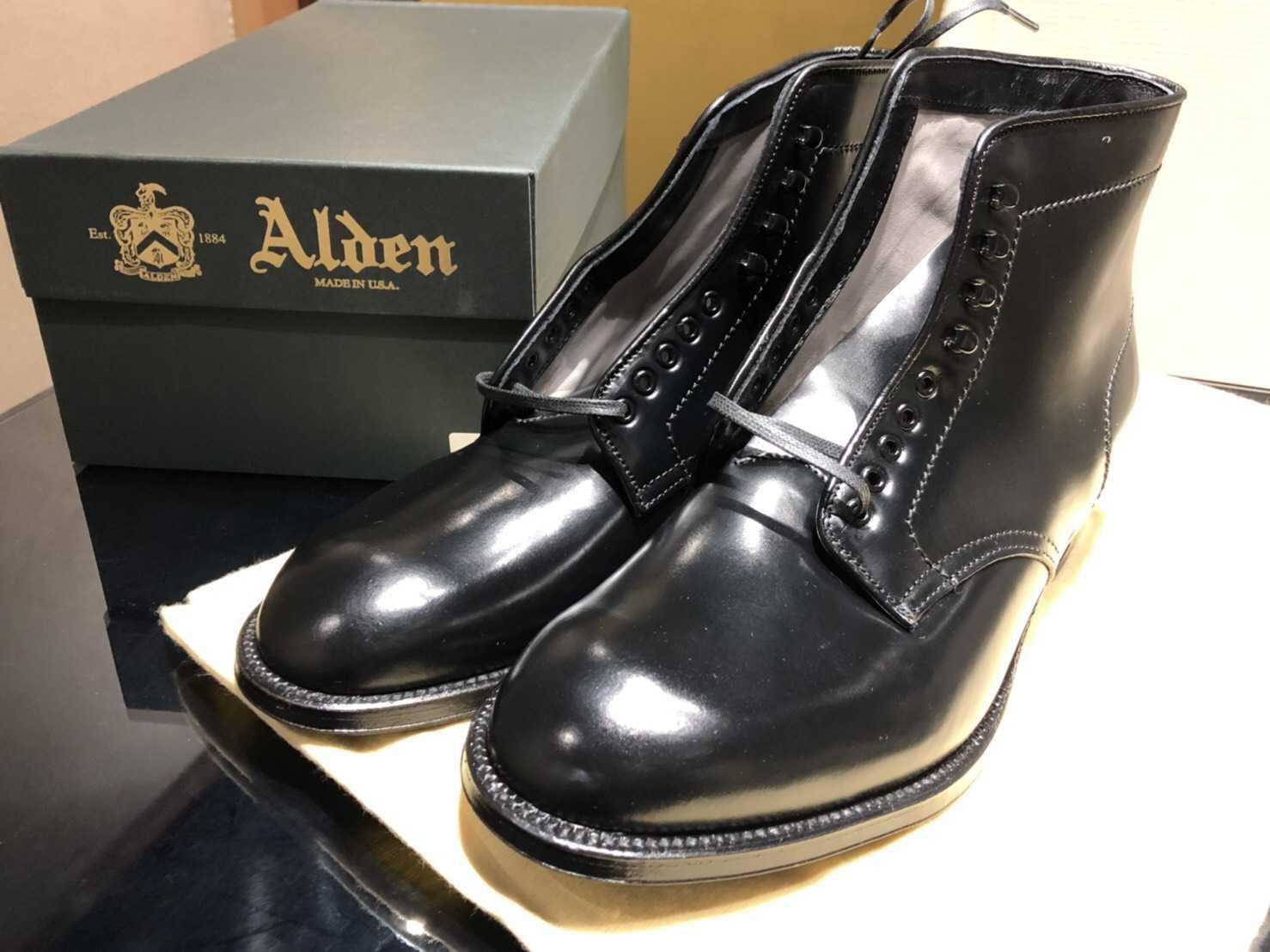 オールデン買取 ブーツ