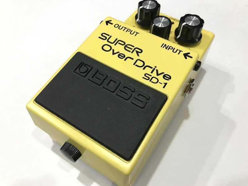 BOSS買取 SD-1 SUPER Over Drive