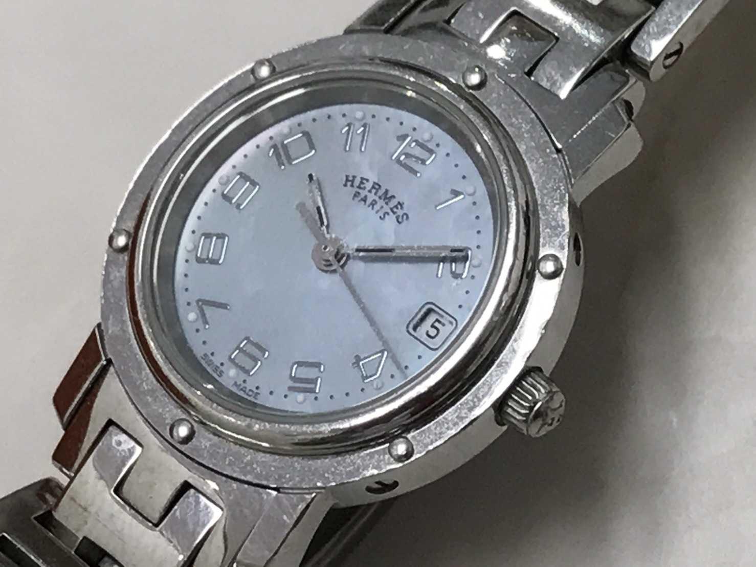 時計買取 エルメスクリッパー